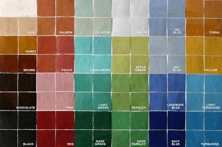 Moroccan Designer Tiles Marrakech Xanthe Pat