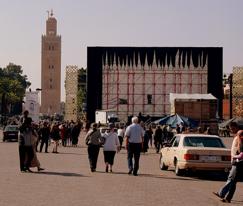 djemaa el-fna-square-cinema-screen-Marrakech film-festival08