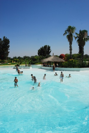 Wave Pool Oasiria water park Marrakech