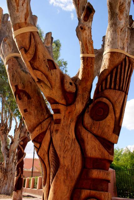 Marrakech Tree Sclupture